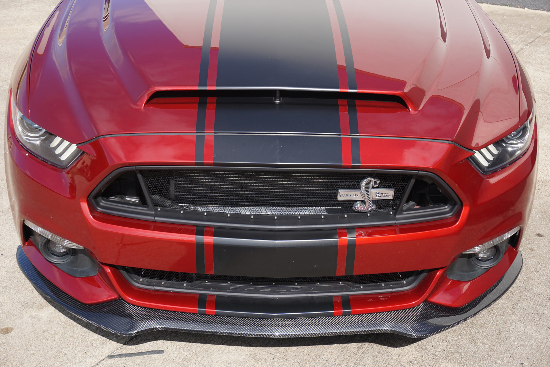 Used 2015 ford mustang supersnake concept car