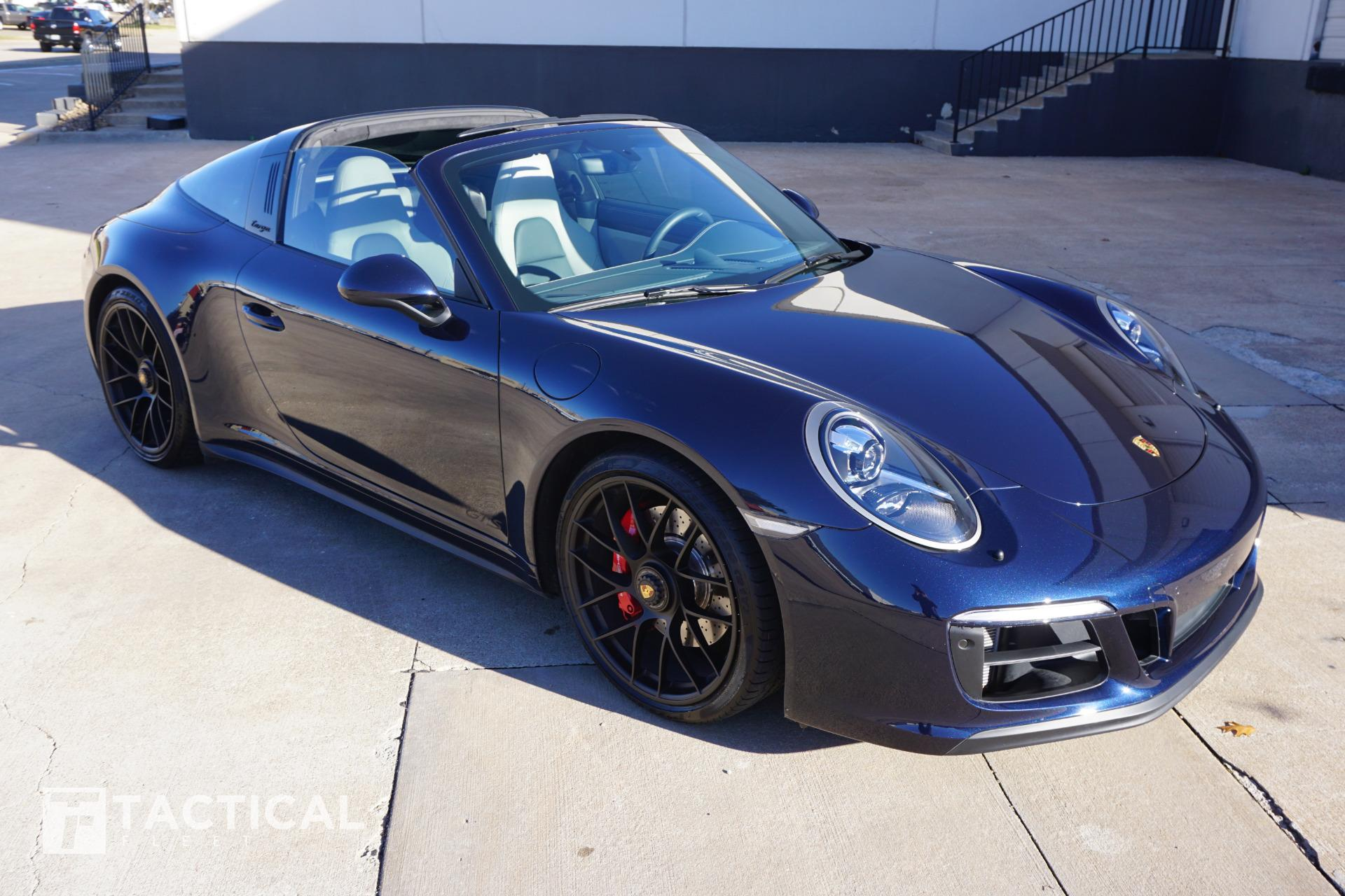 Used 2018 Porsche 911 Targa 4 Gts For Sale 154 900 Tactical Fleet Stock Tf1077
