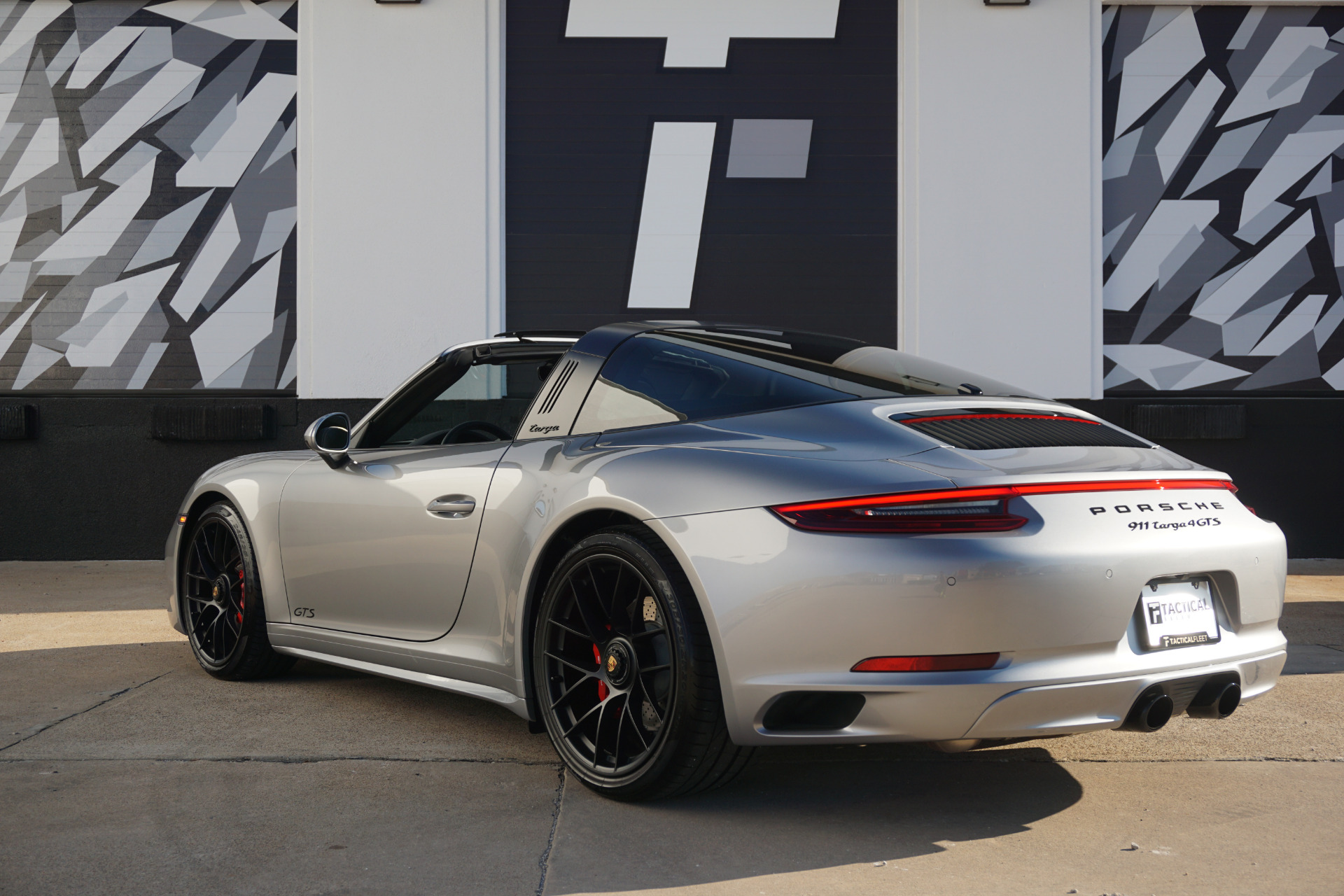 Used 2018 Porsche 911 Targa 4 Gts For Sale 149 900 Tactical Fleet Stock Tf1193