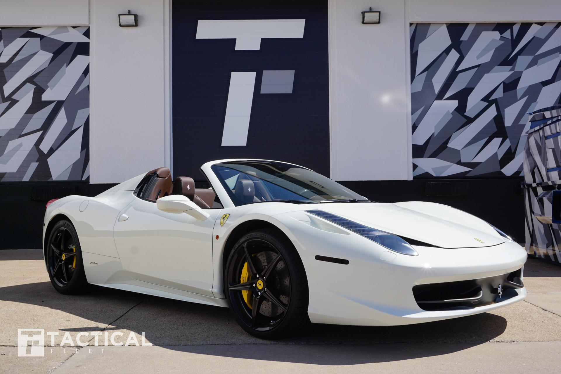 Used 2013 Ferrari 458 Spider For Sale 192900 Tactical