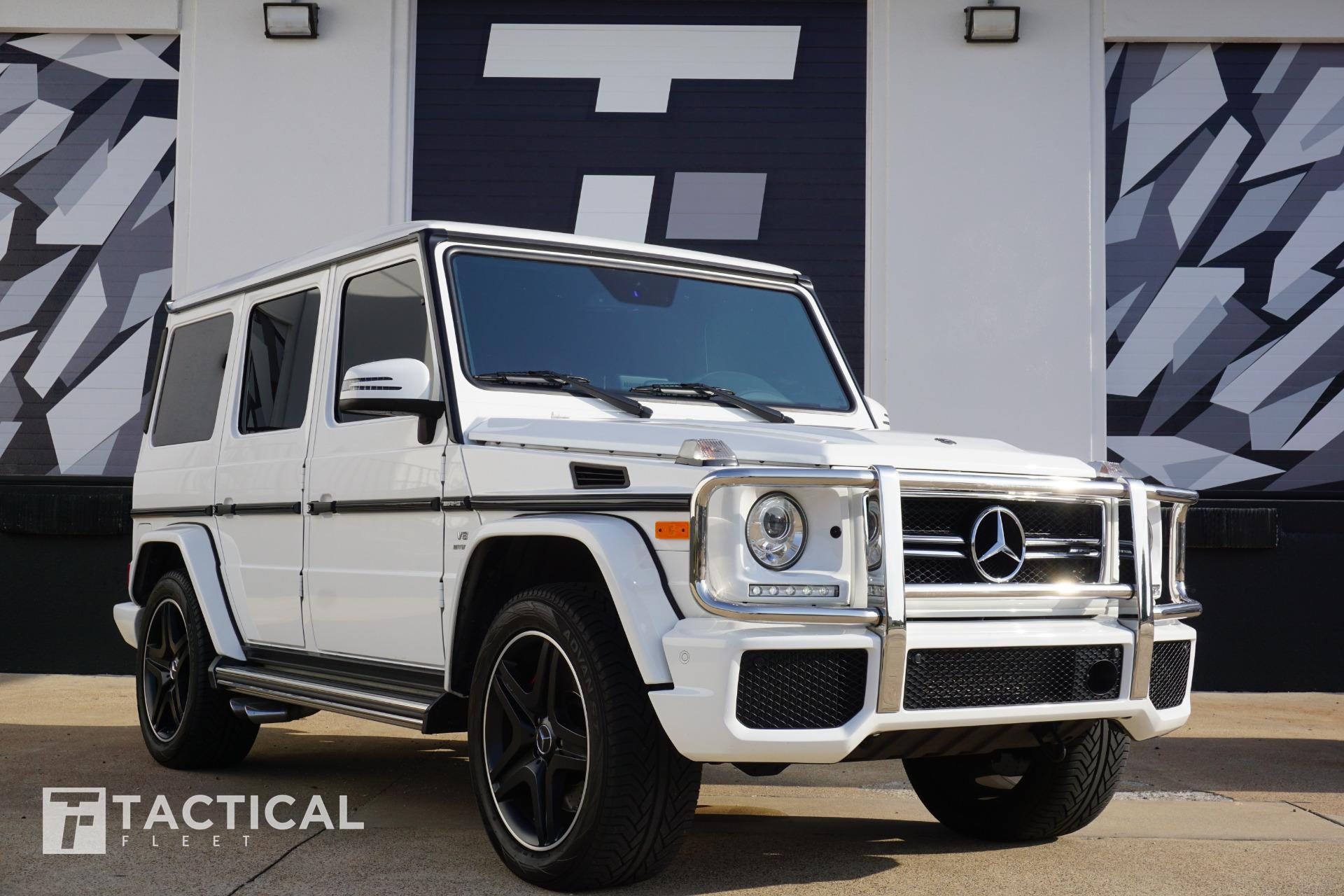 Used 2018 Mercedes Benz G Class Amg G 63 For Sale 129 900 Tactical Fleet Stock Tf1242
