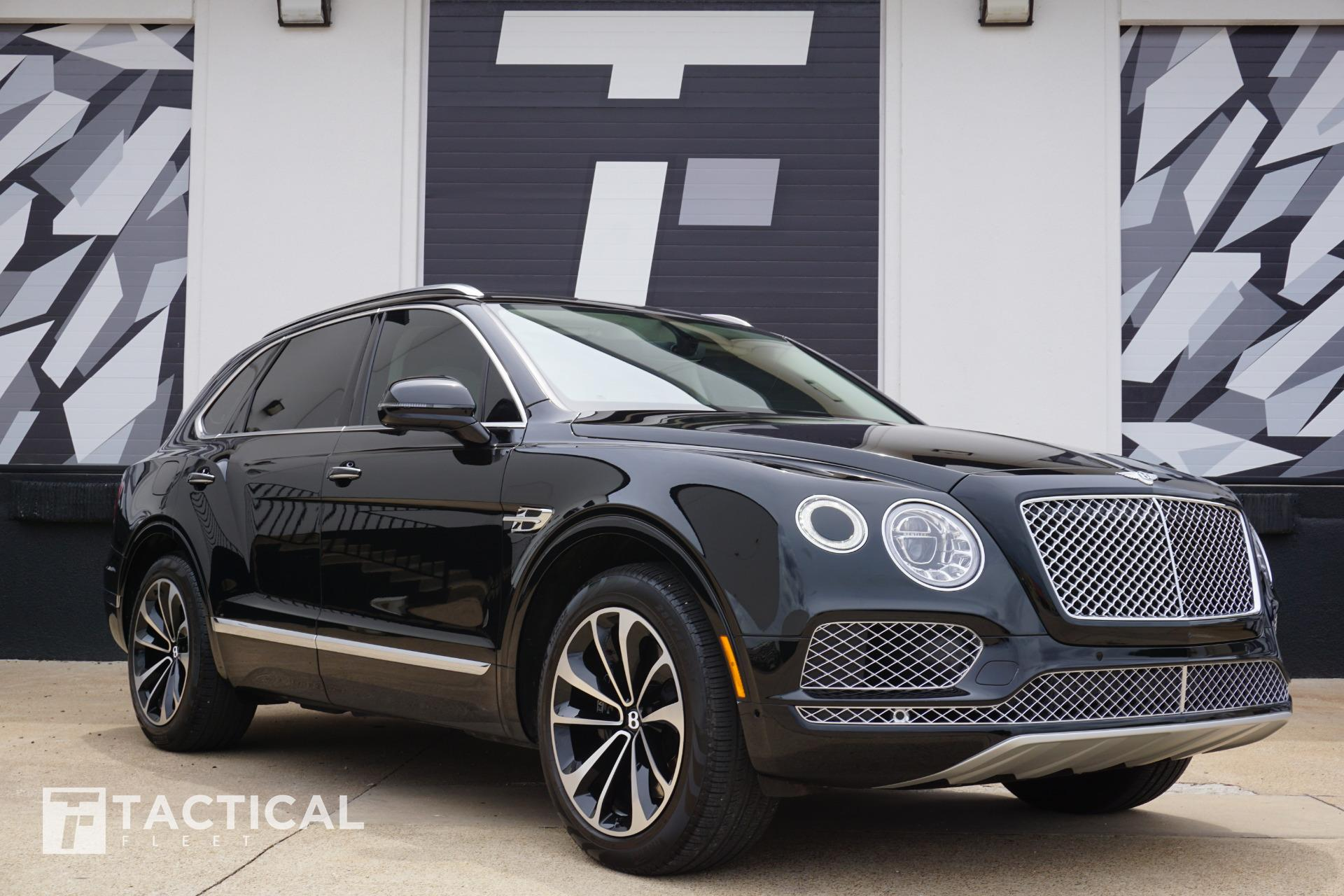 Used 2019 Bentley Bentayga V8 For Sale 169 900 Tactical