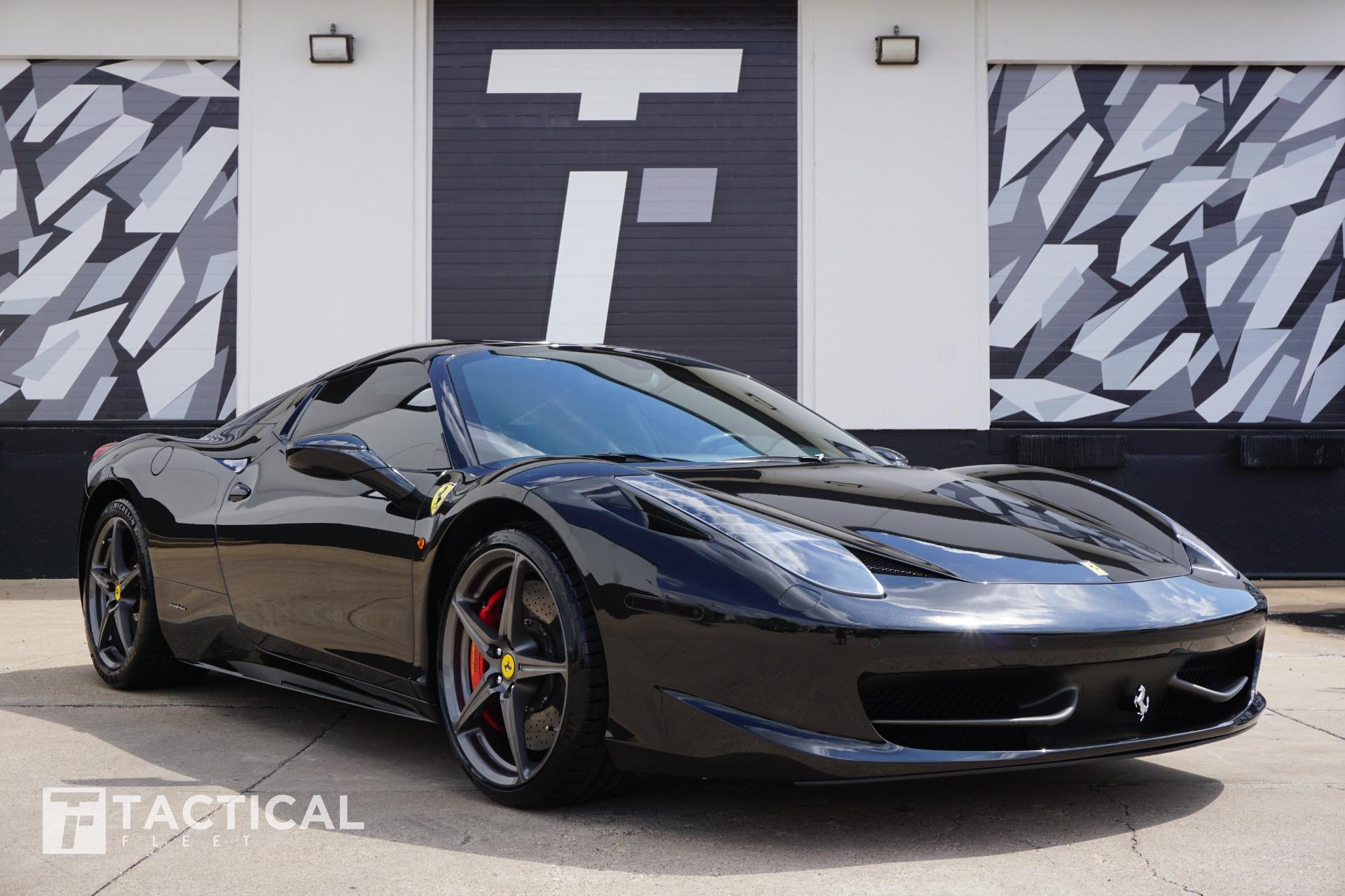 Used 2015 Ferrari 458 Spider For Sale 234900 Tactical