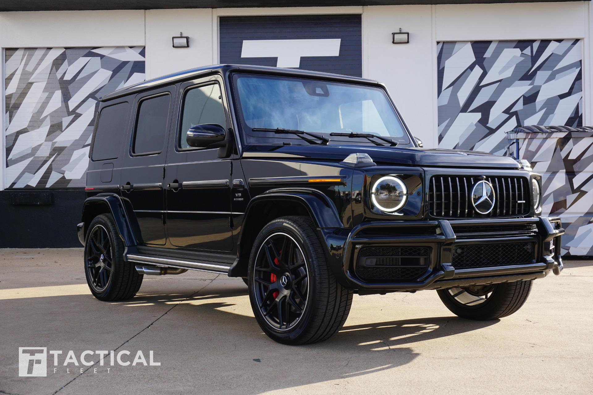 Used 2020 Mercedes Benz G Class Amg G 63 For Sale 204 900 Tactical Fleet Stock Tf1443