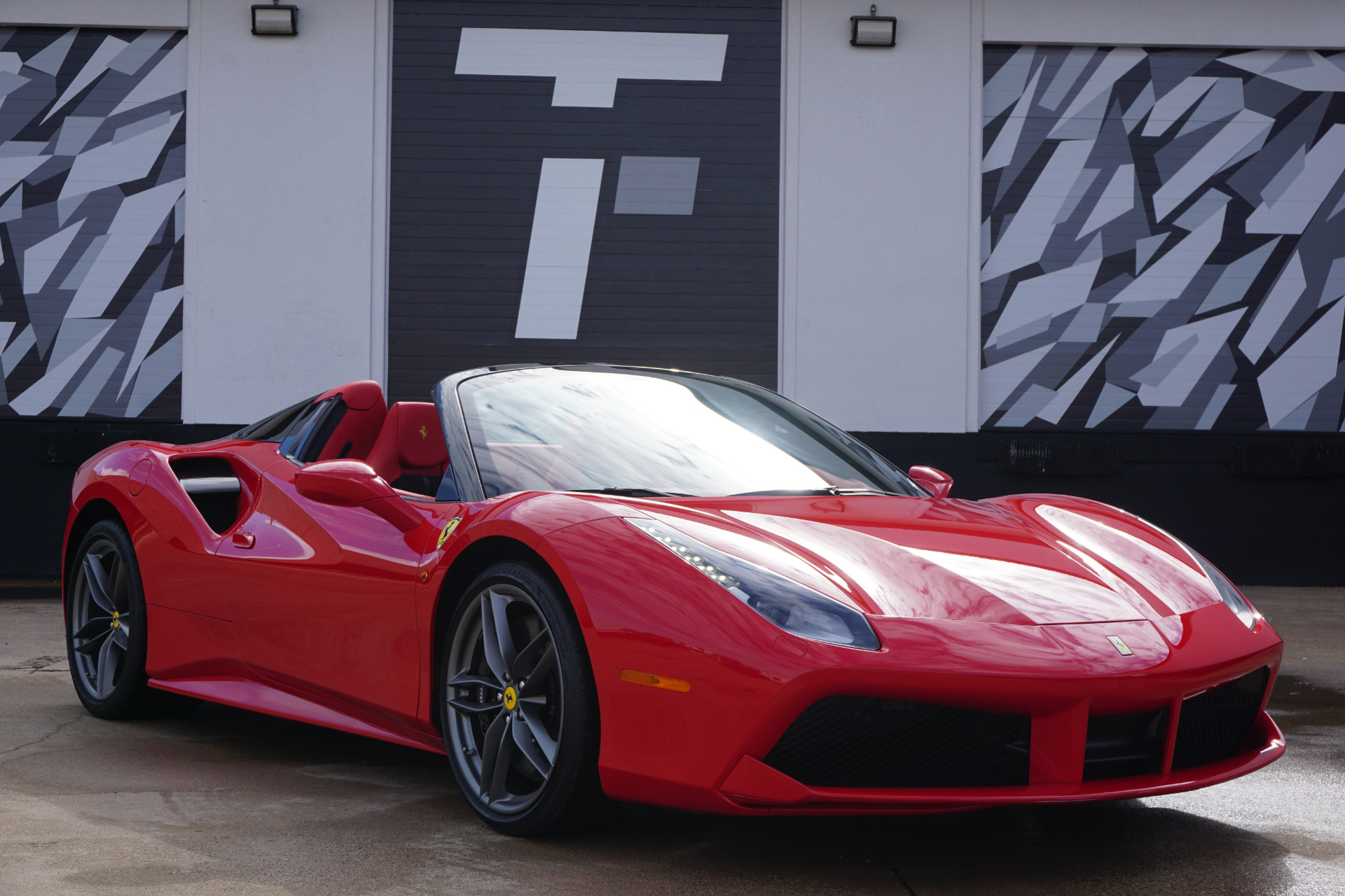 Used 2019 Ferrari 488 Spider For Sale 289 900 Tactical Fleet Stock Tf1491