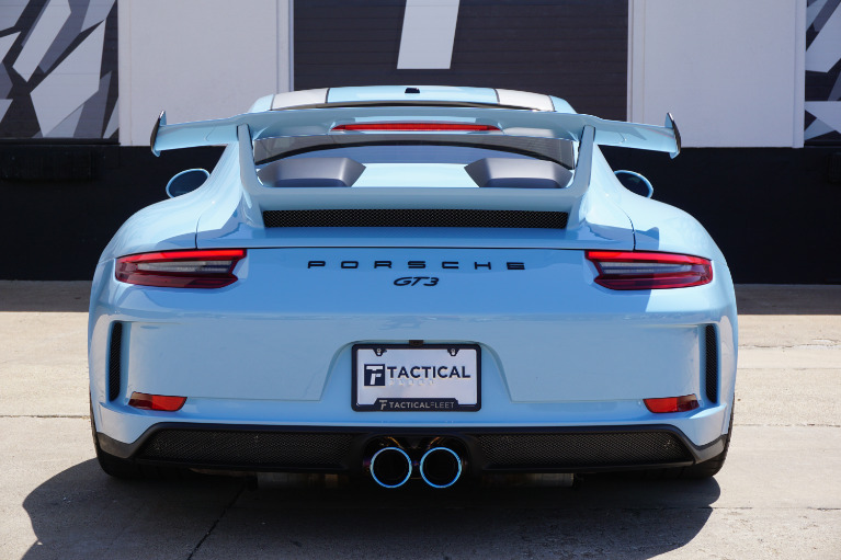 Used 2018 Porsche 911 GT3 For Sale ($169,900) | Tactical ...
