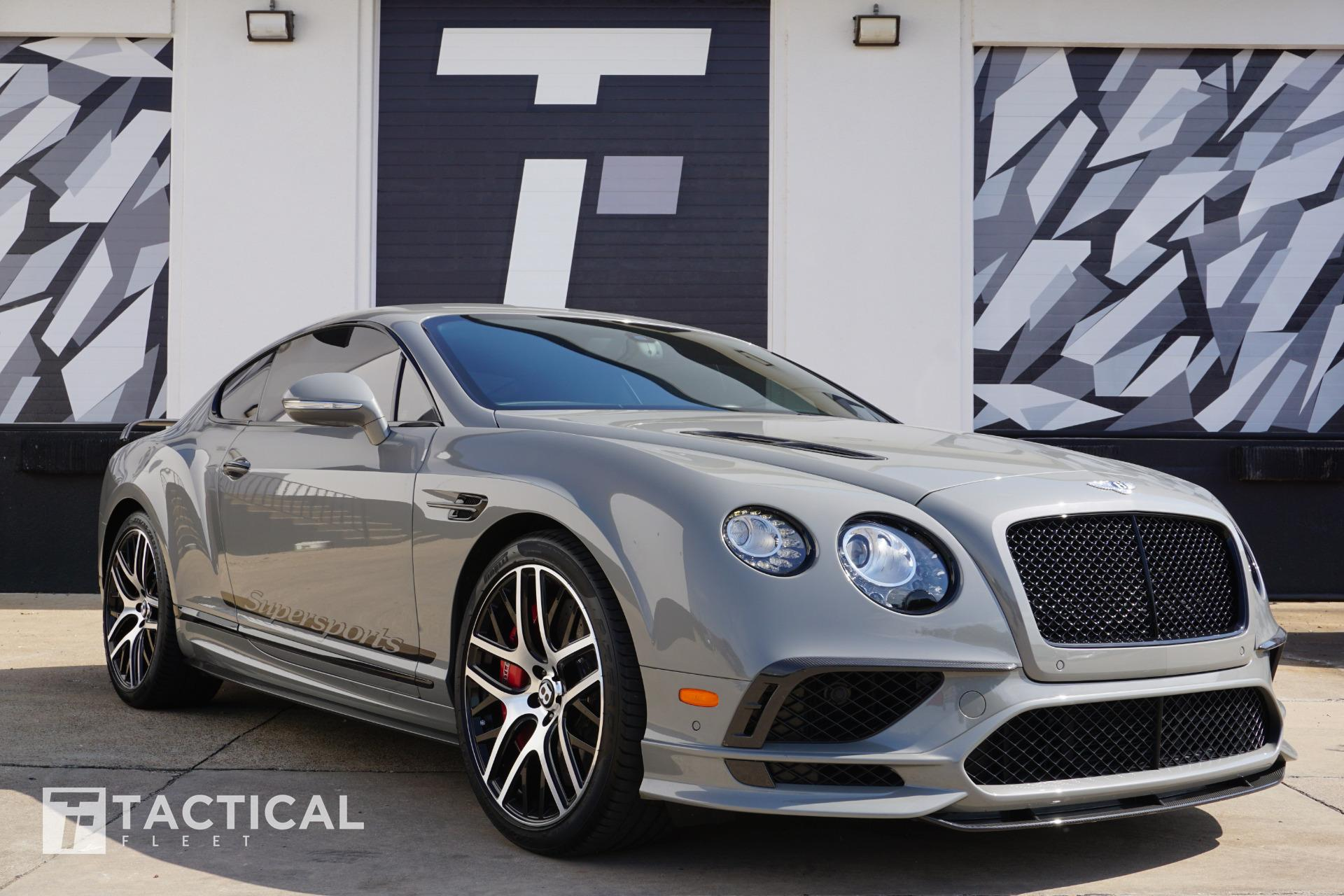 Used 2017 Bentley Continental Supersports | Addison, TX