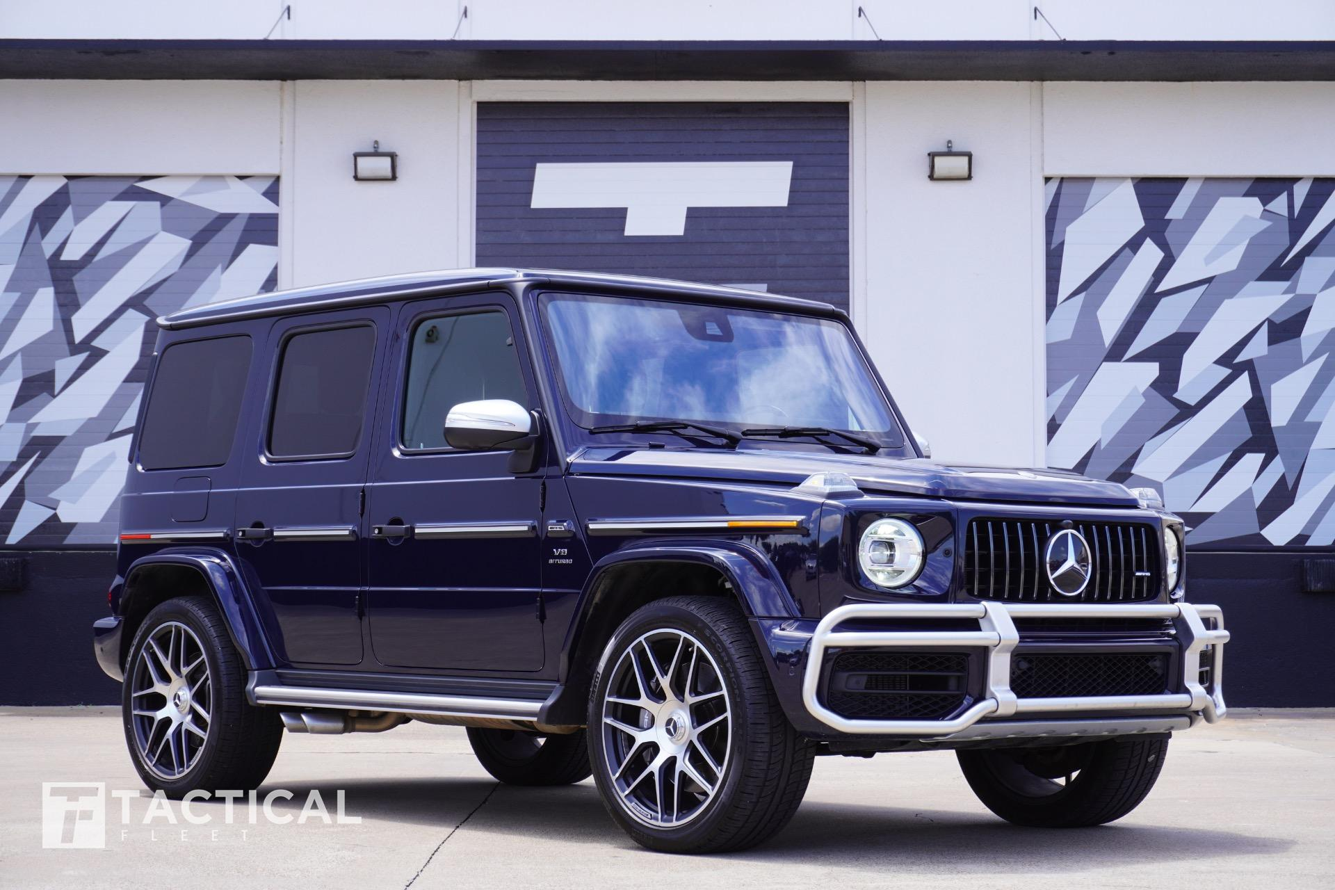 Used 2020 Mercedes-Benz G-Class AMG G 63 Stronger Than Time Edition   Addison, TX